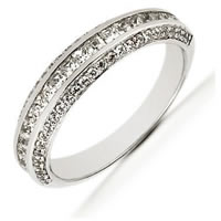 Item # 5416079PD - Palladium Diamond Anniversary Band