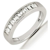Item # 5416539W - 14Kt White Gold Diamond Anniversary Band