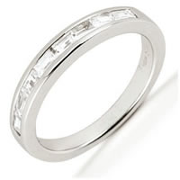 Item # 542139WE - 18Kt White Gold Diamond Anniversary Band
