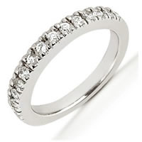 Item # 543739W - 14Kt White Gold Diamond Anniversary Band