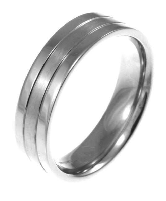 6423ti titanium wedding band 6 mm wide