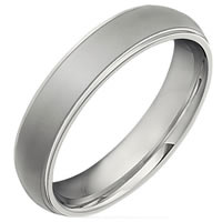 Item # 6494TI - Titanium Wedding Band