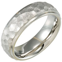 Item # 6632TI - Titanium Wedding Band