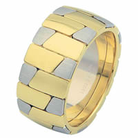 Item # 68709010 - 14 K Two-tone Wedding Ring