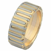 Item # 68710101 - 14 Kt Two-Tone Wedding Ring