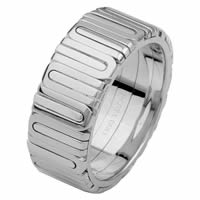 Item # 68710210W - 14 Kt White Gold Wedding Ring