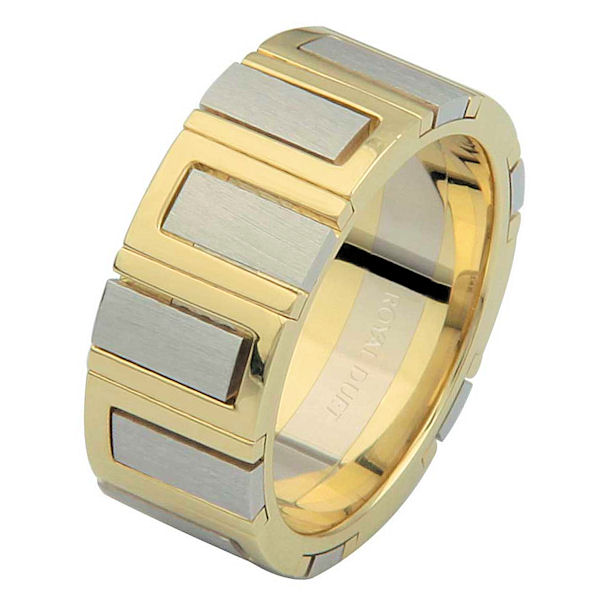 Item # 68711101 - 14 Kt Two-Tone Gold Wedding Ring View-1