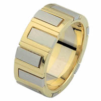 Item # 68711101 - 14 Kt Two-Tone Gold Wedding Ring