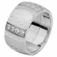 Item # 6871312DW - White Gold Diamond Wedding Ring