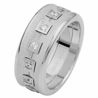 Item # 6871610DW - White Gold Eternity Diamond Wedding Ring