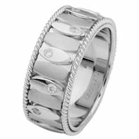 Item # 68720201DWE - White Gold Diamond Ring. Inseparable