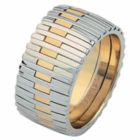 Item # 6872301 - 14 K Two-Tone Wedding Ring