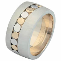 Item # 68726010 - 14 K Two-Tone Wedding Ring