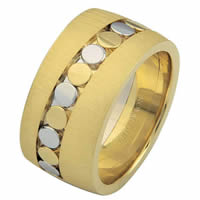 Item # 68726101 - 14 K Two-Tone Wedding Ring