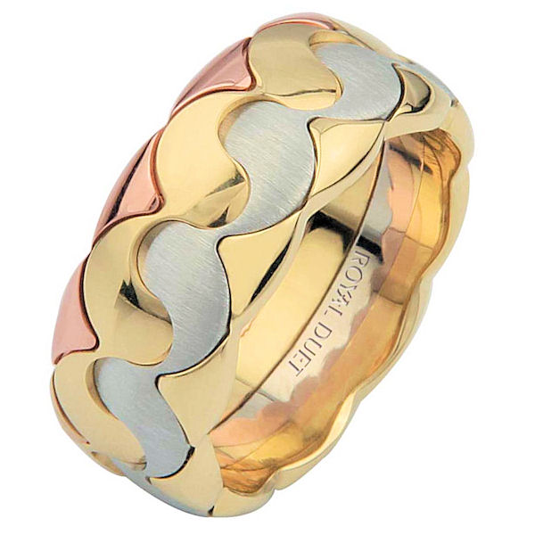 Tri-Color Wedding Ring Music, Balance, Harmony