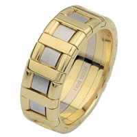 Item # 6873501 - 14 Kt Two-Tone Wedding Ring