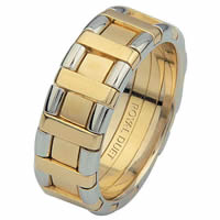 Item # 68735101 - 14 Kt Two-Tone Wedding Ring