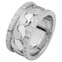 Item # 68738202DWE - 18 Kt White Gold Diamond Eternity Ring