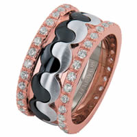 Item # 68738203D - 14 K Diamond Eternity Wedding Ring