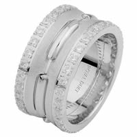 Item # 6873910DW - White Gold Diamond Eternity Ring