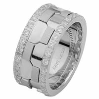 Item # 68740101DW - White Gold Diamond Eternity Ring
