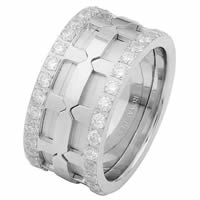 Item # 6874110DW - White Gold Diamond Eternity Ring