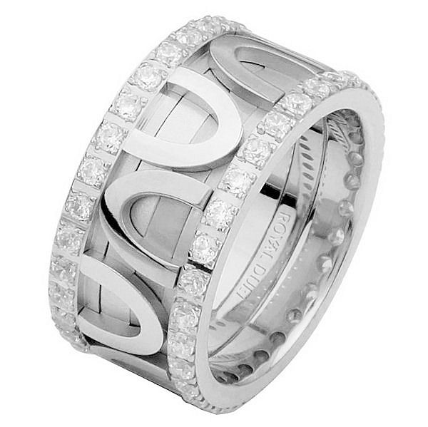 Item # 68743120DWE - White Gold Diamond Eternity Ring View-1