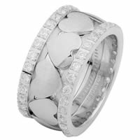 Item # 68745120DWE - White Gold Diamond Eternity Ring