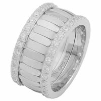 Item # 68747121DW - White Gold Diamond Eternity Ring