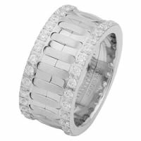 Item # 6874810DW - White Gold Diamond Eternity Ring