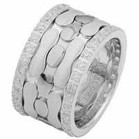Item # 68749102DWE - White Gold Diamond Eternity Ring