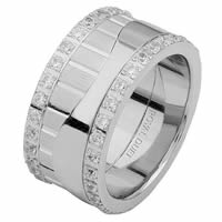 Item # 68752010DW - White Gold Diamond Eternity Ring
