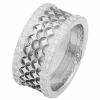 Item # 68753102DW - White Gold Diamond Eternity Ring