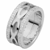 Item # 6875610DW - 14 K White Gold Diamond Eternity Ring