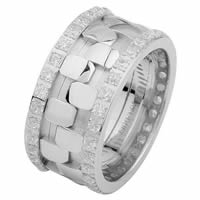 Item # 6875710DW - White Gold Diamond Eternity Ring