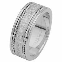 Item # 6875810DW - White Gold Diamond Eternity Ring