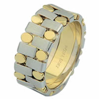 Item # 6875901 - 14 Kt Two-Tone Wedding Ring