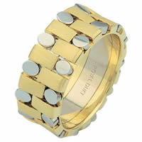 Item # 6875910 - 14 Kt Two-Tone Wedding Ring