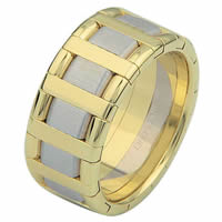 Item # 68760101 - 14 Kt Two-Tone Wedding Ring
