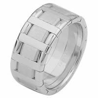 Item # 68760101WE - 18 Kt White Gold Wedding Ring