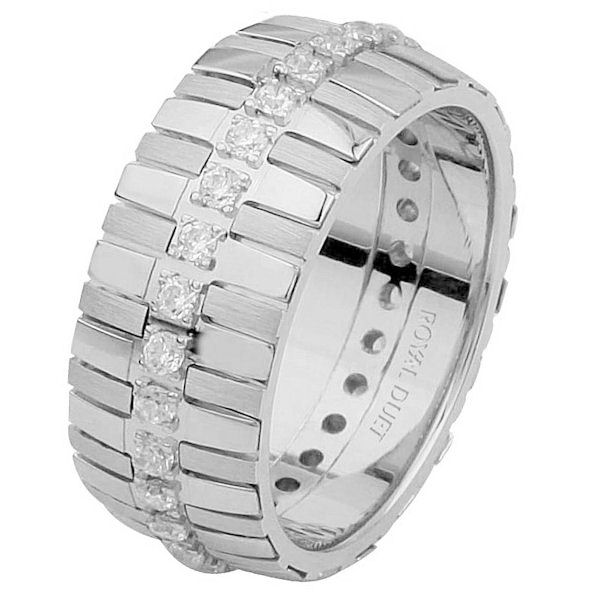 14 K White Gold Diamond Eternity Ring