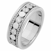 Item # 687631020DW - 14 K White Gold Diamond Eternity Ring