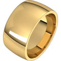 Item # 68876171E - Specially Made 3.5mm Thick 18K 10.0mm Wide Comfort Fit Wedding Band