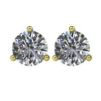 Item # 730753 - 14K Diamond Stud Earrings