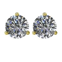 Item # 731003 - 14K Diamond Stud Earrings