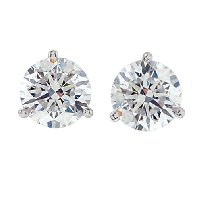 Item # 731503PP - Platinum Diamond earrings