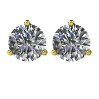 Item # 731503 - 14K Diamond Stud Earrings