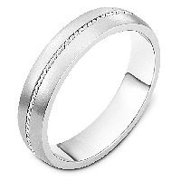 Item # 7546PD - Palladium Whedding Band