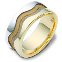18K Gold Wedding Ring Grand Canyon