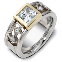 Item # A122401 - 14K Gold Diamond Wedding Band